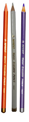 SPRINTz Water Erasable Pencils for fabric marking