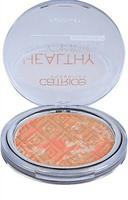 Catrice cosmetics healthy look mattifying powder translucent 010 luminous light