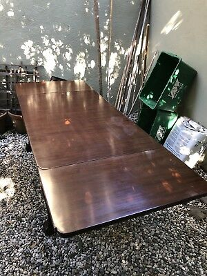 Antique Chippendale Table 1900s 5'-8' Long