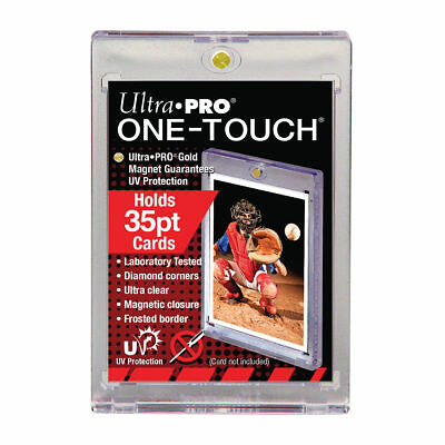 25 Ultra Pro 35pt UV ONE TOUCH MAGNETIC Card Holders for Standard Size Cards