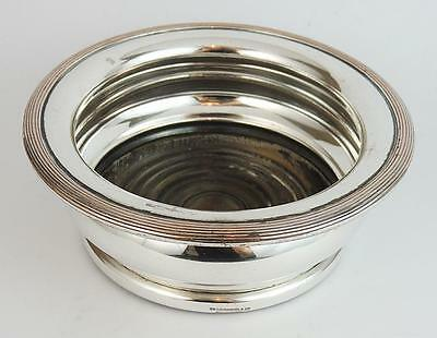 SILVER PLATE BOTTLE COASTER WM DRUMMOND & CO MELBOURNE AUSTRALIA c1870