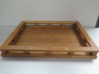 Vintage Mid Century Modern DANSK Wood Serving Tray