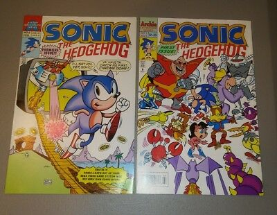 Sonic the Hedgehog 0 1 Archie Comics 1st Solo 1st Ongoing VF