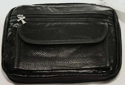 New Genuine Leather Black Bible Cover Book Cover Tote Bag Bible Case