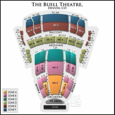 Hamilton Denver | Buell Theatre | 4 Tickets | Denver, CO | 3/31/18, 7:30PM