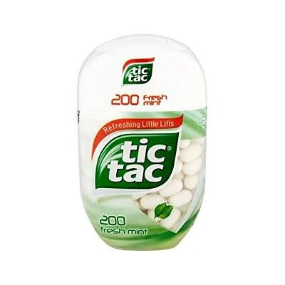 Tic Tac Bottle Pack Fresh Mint 96g - Pack of 4. Shipping Included