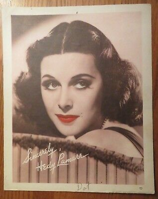 Carlton Theatre Program for February 1939 - Hedy Lamarr photo on reverse side.