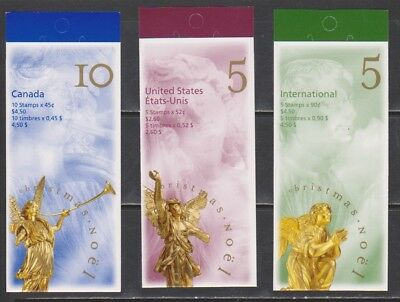 Canada 1998 Christmas Booklets 13 X 13 1/2 perf Mint NH
