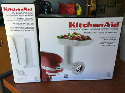 Kitchen Aid Food Grinder and Sausage Stuffer Kit