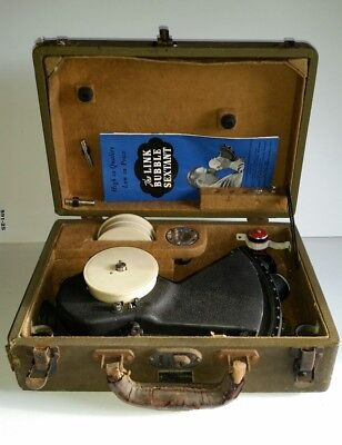 Link A-12 Aircraft Bubble Sextant WWII