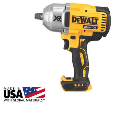 "Dewalt 1/2"" High Torque Hr Impact Wrench Bare Tool DCF899HB"