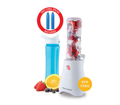 George Foreman GFBL3002CS Mix & Go Personal Blender + Chill Sticks - RRP $44.95