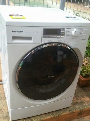 Panasonic 10kg front load Washing Machine as new w/90day warranty