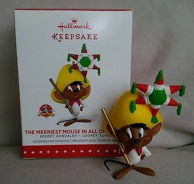 Hallmark 2015 'The Merriest Mouse In All Of Mexico' Speedy Gonzales Ornament