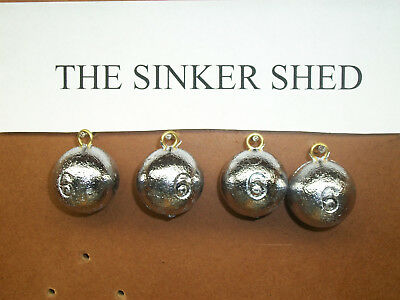 6 oz cannonball sinkers - choose quantity 10/25/50 - FREE SHIPPING
