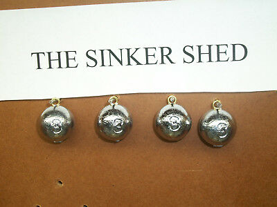 3 oz cannonball sinkers - choose quantity 10/25/50/100 - FREE SHIPPING