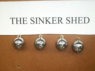 Cannonball Sinkers 25lbs 1-2-3-4-5-6-8-10-12-16 Oz Any Combination Of Sizes