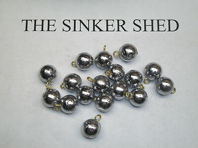 3/4 oz cannonball sinkers - choose quantity 10/25/50/100 - FREE SHIPPING