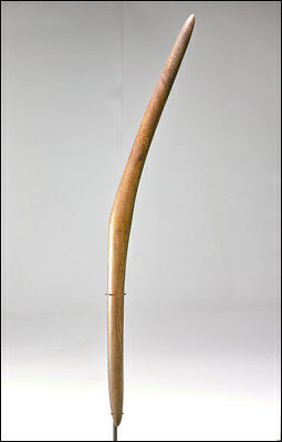 Unique  Boomerang Shaped Aboriginal Club from South Australia / S.W. Queensland