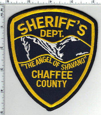 Chaffee County Sheriff (Colorado) Shoulder Patch - new from the 1980's