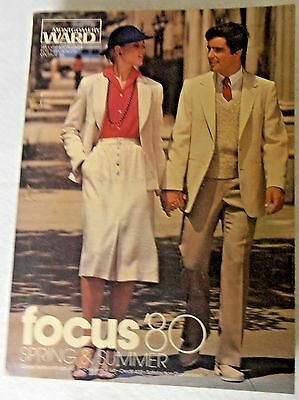 Montgomery Ward  Focus '80  Spring & Summer  Department Store Catalogue