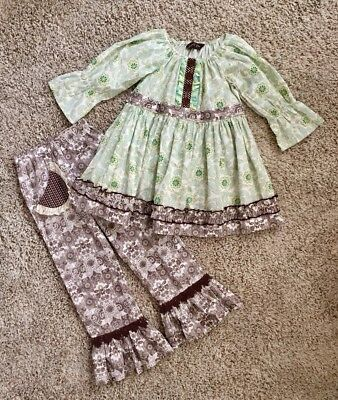 Mustard Pie Girls Outfit. Size 7.