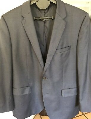 Hugo Boss Men's Navy Jacket Blazer Size 54 Euro, 44R US, RRP $649