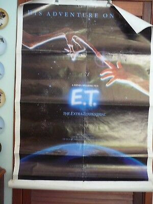 original movie posters x3  e.t. cocoon the day after 1980s