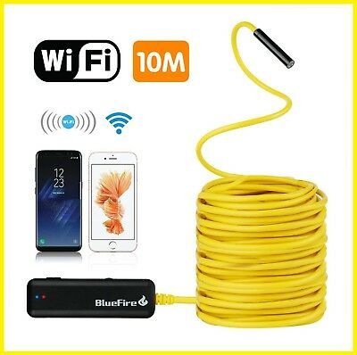 Inspection Camera System Plumbing Snake Waterproof Flexible Electrical iPhone HD