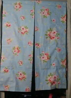 "Martha Stewart Everyday Valances in a Vintage Style Floral Print 2@ 84""x 15.5"""