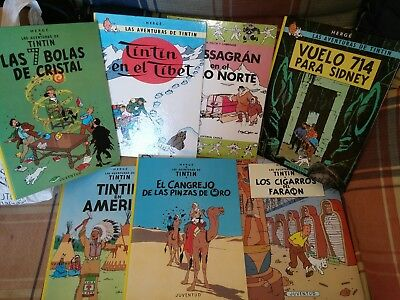 Lote comics Tintin y Massagran