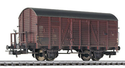 LILIPUT H0 – 235094 – TOW TRUCK GOODS CLOSED Gr – DB – EP. III – AGED