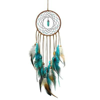 Handmade Dream Catcher with Feathers Wall Home Car Hanging Ornament Decor Gift