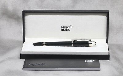 Top Condition MontBlanc StarWalker Platinum-Coated Resin FineLiner Pen With Box