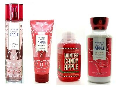 New Bath & Body Works Winter Candy Apple Body Lotion / Cream / Hand Soap & Mist