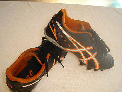 """Asics Lethal RS """"As New"""" Football Boots US7.5  Cm25.5  Eu40.5 AFL, Soccer, Rugby"""