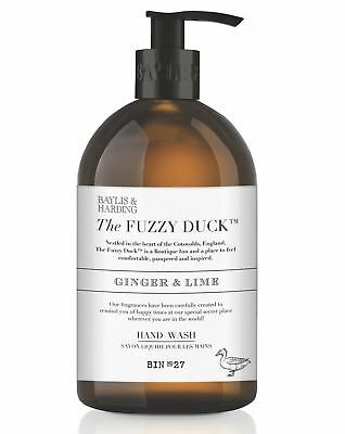 Baylis & Harding Fuzzy Duck Classic Ginger & Lime Fragrance 500ml Hand Wash