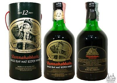 Bunnahabhain Single Islay Malt Scotch Whisky 12 Years Old 70 Cl 43°