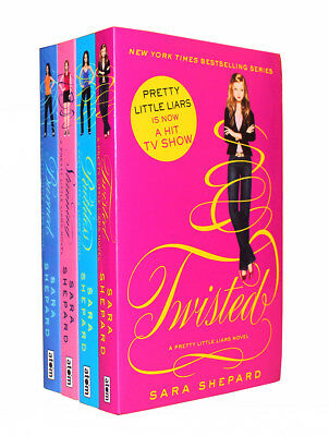 Pretty Little Liars Series 3 Collection Sara Shepard 4 Books Set Twisted