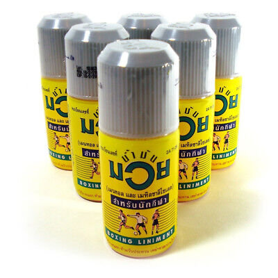 NAMMAN THAI OIL for aches, pains, sprains, warm ups, injury relief, joints