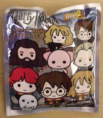 Harry Potter Series 2 ~ 3D Collectable Keyring In Blind Bag