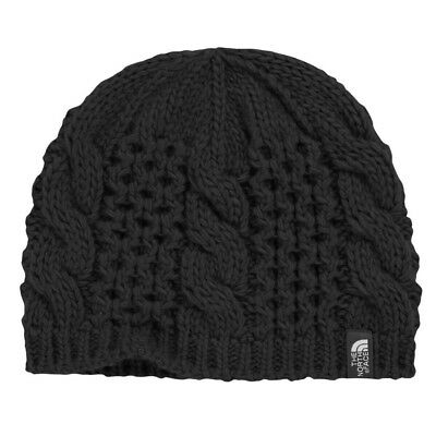 (Small, TNF Black) - The North Face Youth Cable Minna Beanie Kids Hat