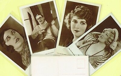 ROSS VERLAG - 1920s Film Star Postcards produced in Germany #1487 to #1540