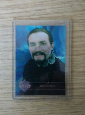 Doctor Who The Master Foil Promo Trading Card