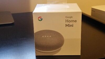 Google Home Mini - Chalk Brand New Sealed