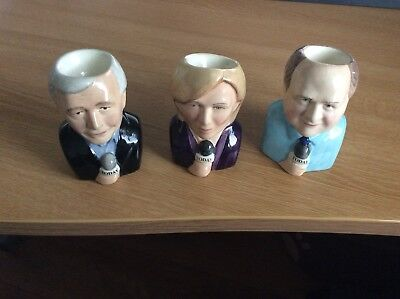 Children in Need 2005 BBC Today Programme Egg Cups Set of 3