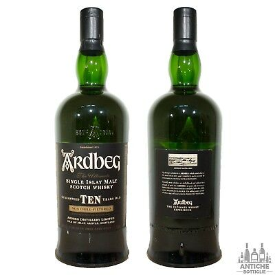 Ardbeg Single Islay Malt Scotch Whisky 10 Years Old 1 L 46°