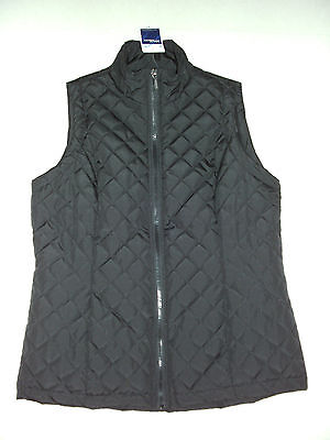 Millers: Size: 10-12. Modern Black with Front Zip, 2 Pockets, Fully-Lined Vest
