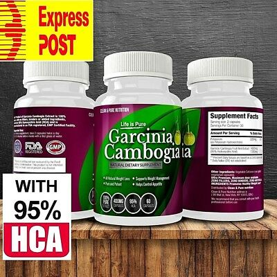 Garcinia Cambogia - 3200mg - 95%HCA - Appetite suppressant - EXPRESS DELIVERY