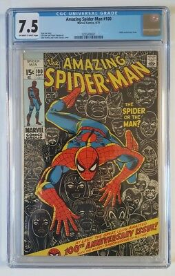 The Amazing Spider-Man #100 CGC Graded 7.5 Marvel Comics
